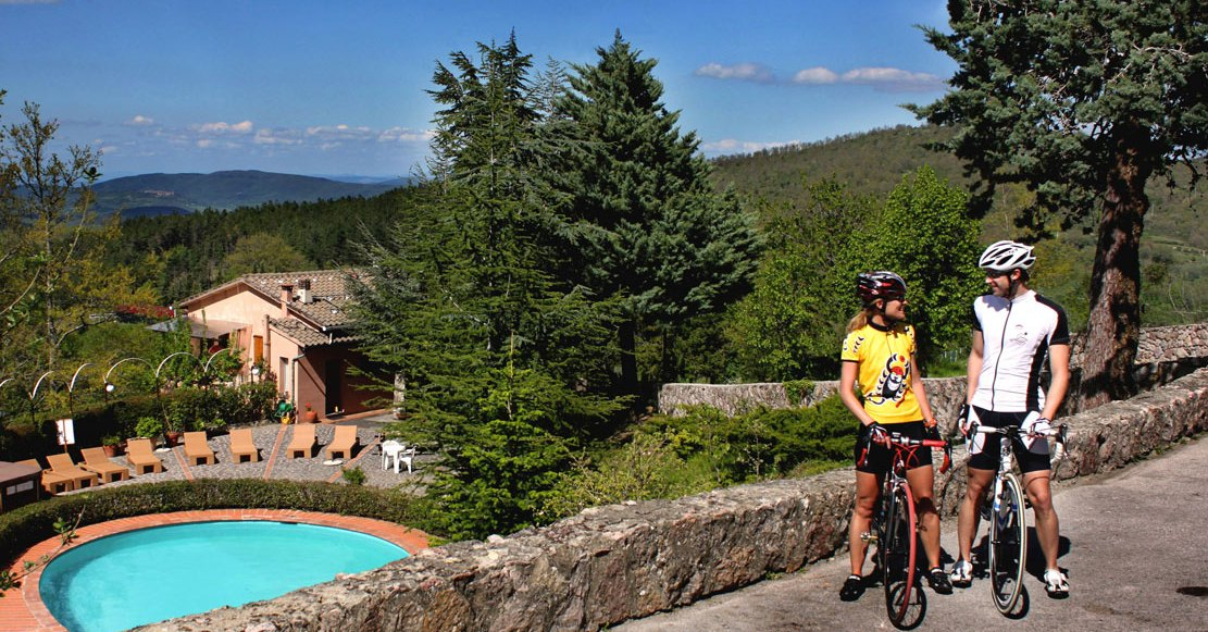 Bike holidays in Tuscany